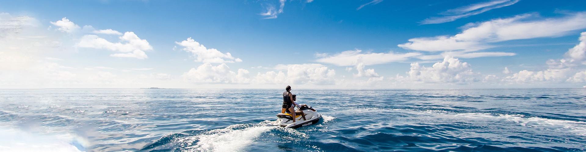 Watersportverzekering op reis